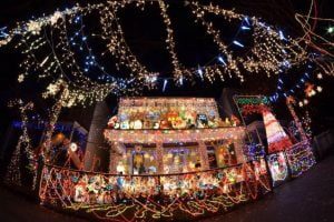 Enjoy the tacky light tour with a private chauffeur